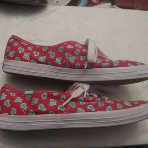 Taylor Swift Keds red cat bow ❤ sneakers Sz 9